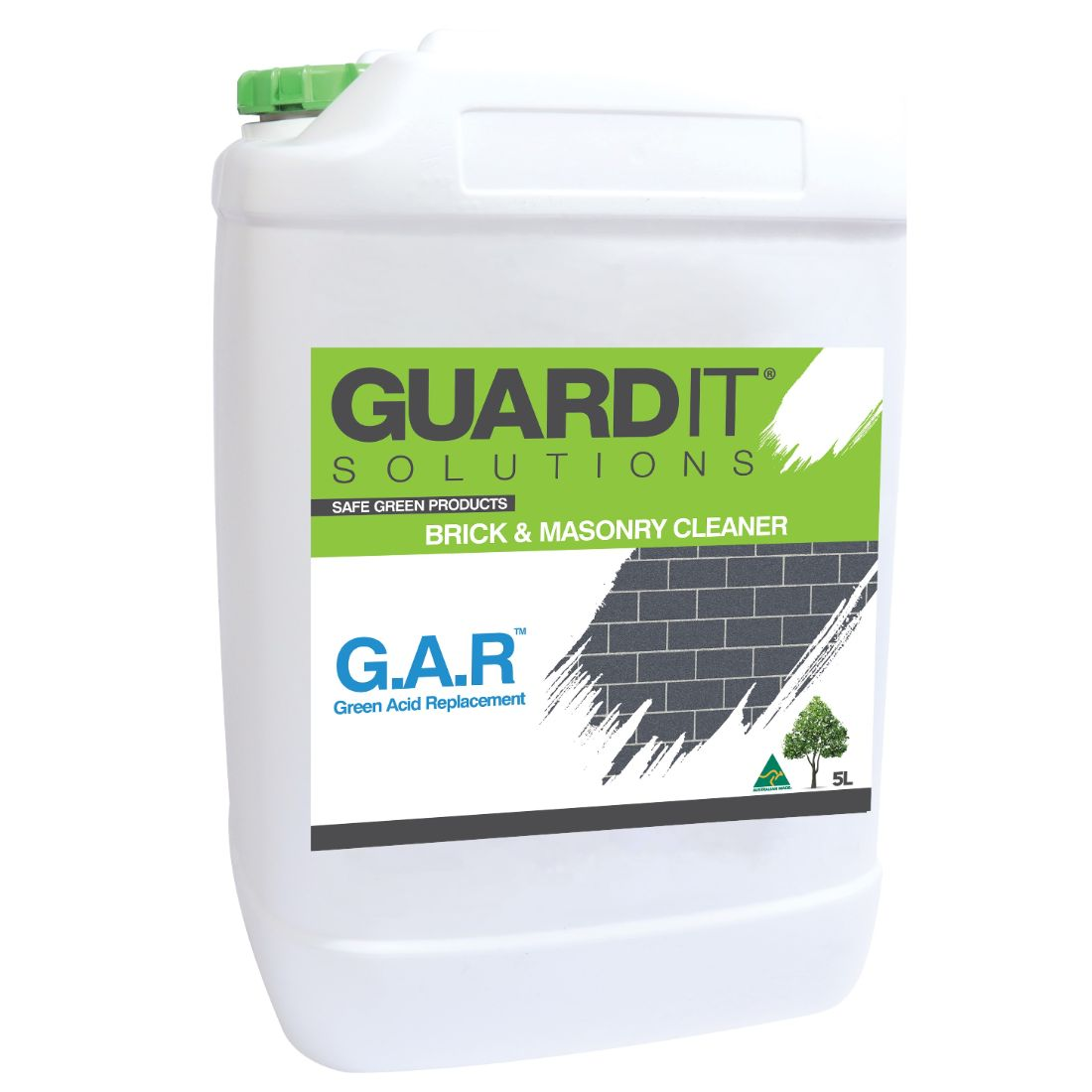 5L Green Acid Replacement Concrete Remover
