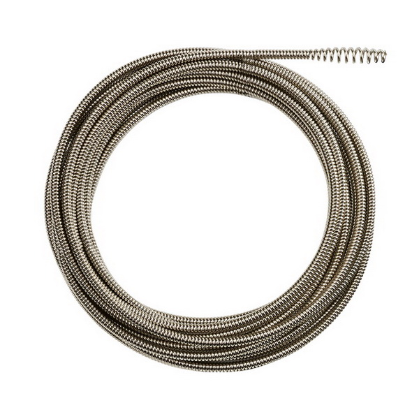 Drain Snake Inner Core Bulb Head Cable 6.4mm x 15m