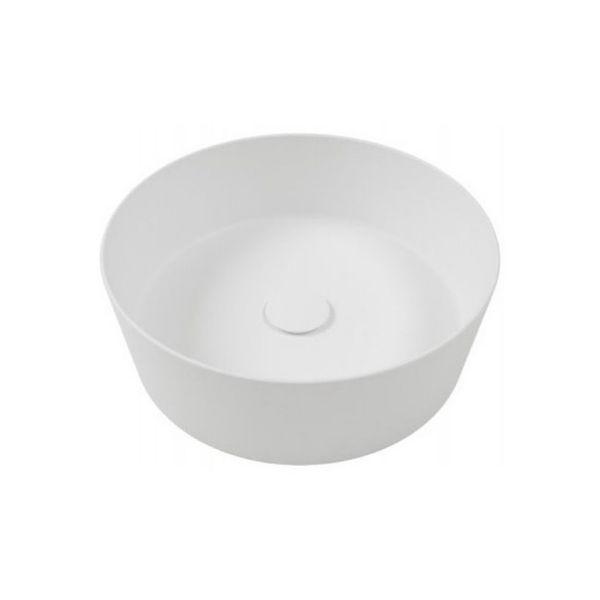 Hatria Countertop Happy Hour Slim 07:00 Basin 440 x 440 x 155mm Ceramic Cement