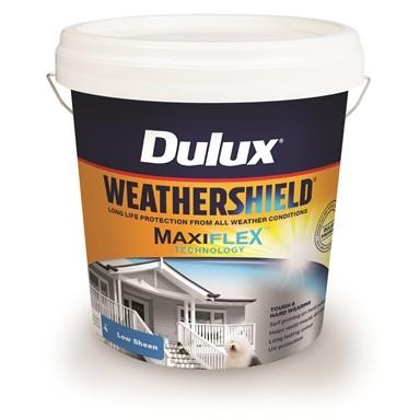 Weathersheild Maxiflex Low Sheen Vivid White 10L