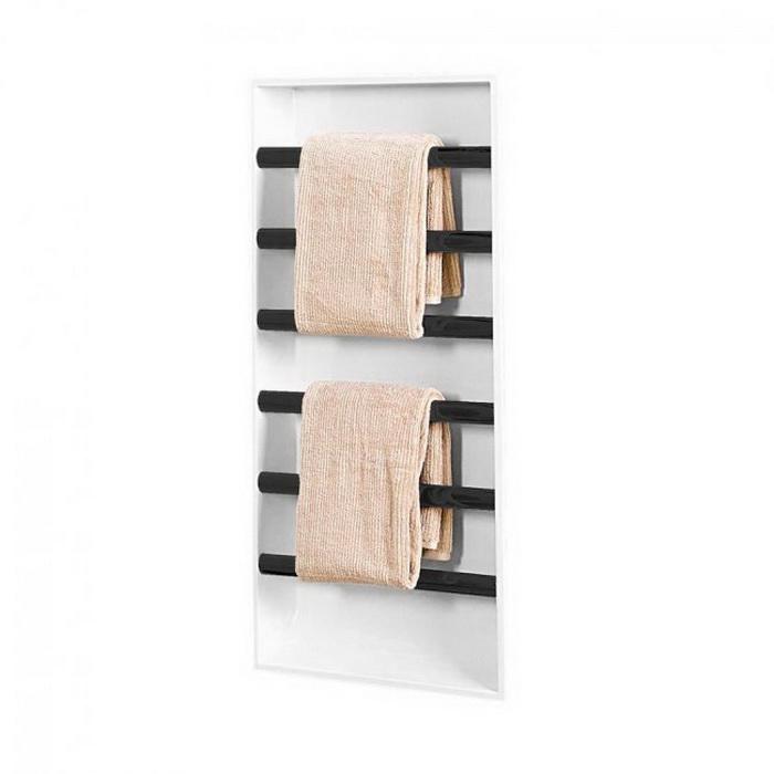 Easyniche Towel Warmer 600 x 800mm Matte Black
