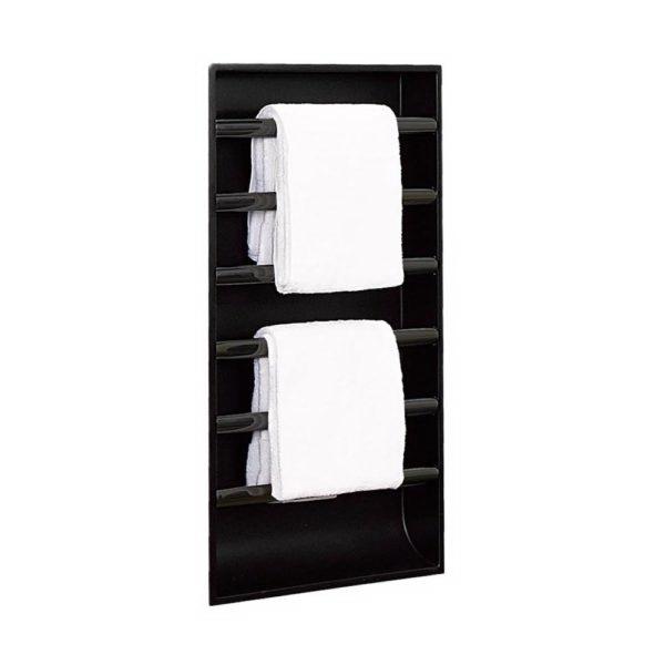 Easyniche Towel Warmer 600 x 1200mm Matte Black