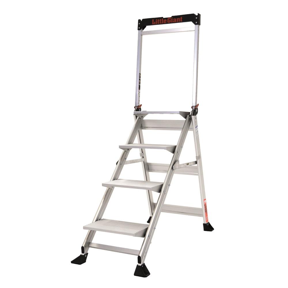 Jumbo step Aluminium Step Ladder 4 Step