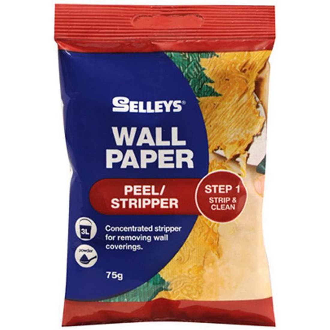 75g Peel/Stripper Weight Wall Paper Paste
