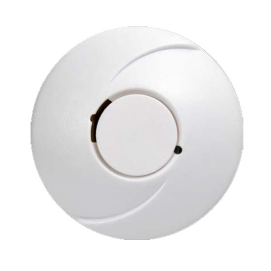 Photoelectric Smoke Alarm with Hush, 10 Year Battery & Wireless Interlink 2 Pack