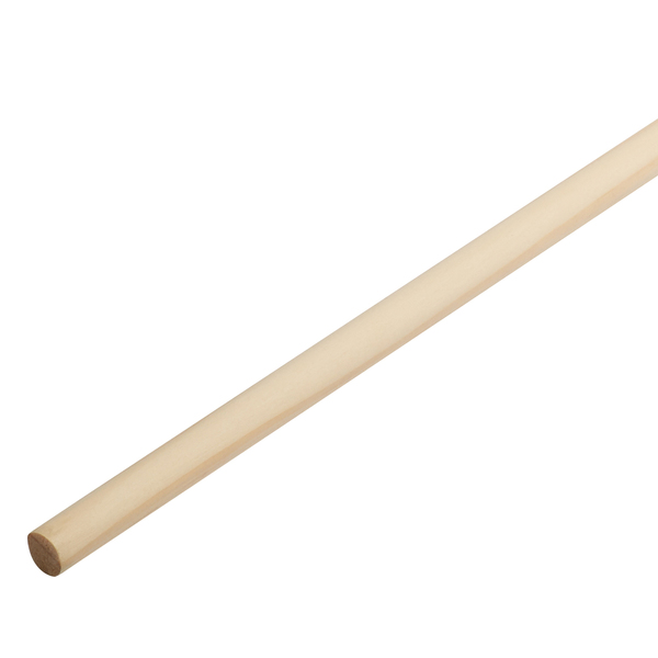 Radiata Dowel Rod Untreated 12mm x 1.8m