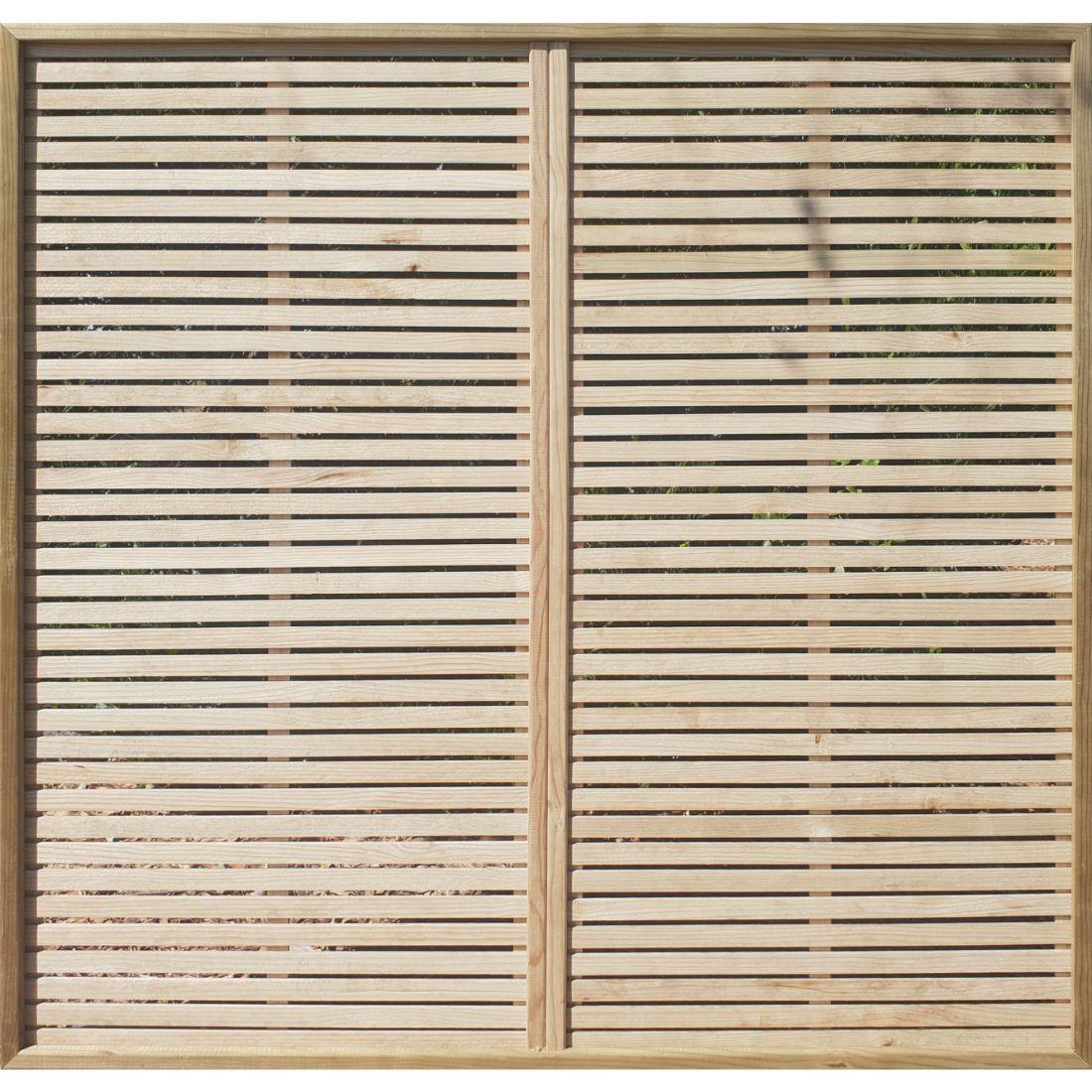Trellis Heavy Framed Double Venetian 1800 x 1800 x 10mm