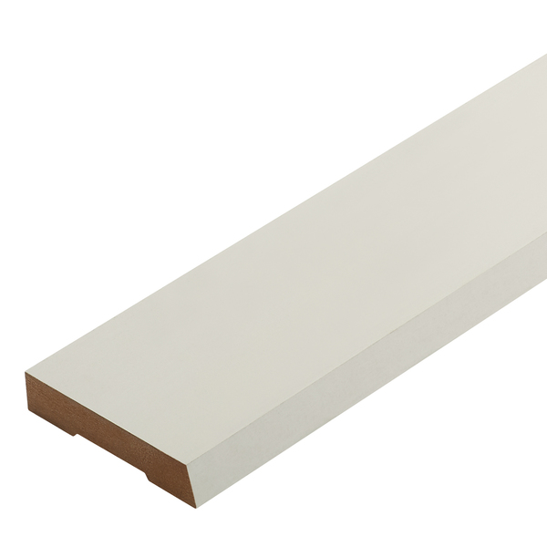 Radiata Pre-Primed No.20 Single Bevel Architrave Finger Jointed Untreated 60 x 10mm