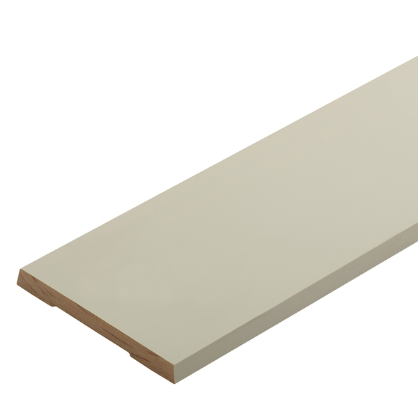 Radiata Pre-Primed Single Bevel Architrave Finger Jointed Untreated 90 x 10mm