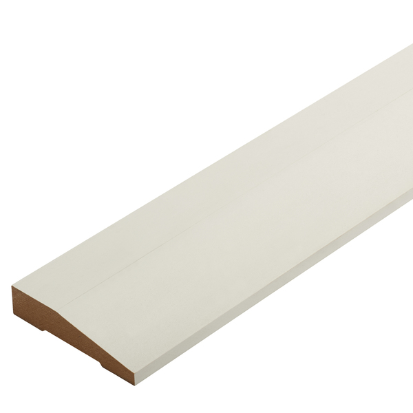 Radiata Pre-Primed Square Top Splayed Architrave Finger Jointed Untreated 90 x 18mm
