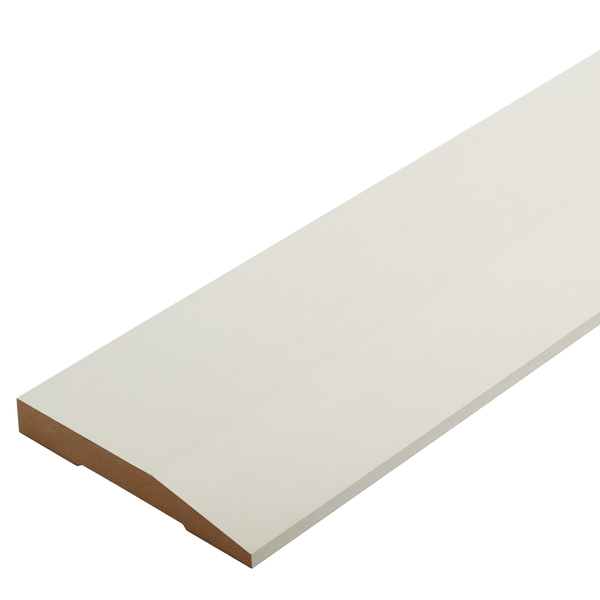 Radiata Pre-Primed Square Top Splayed Architrave Finger Jointed Untreated 135 x 18mm