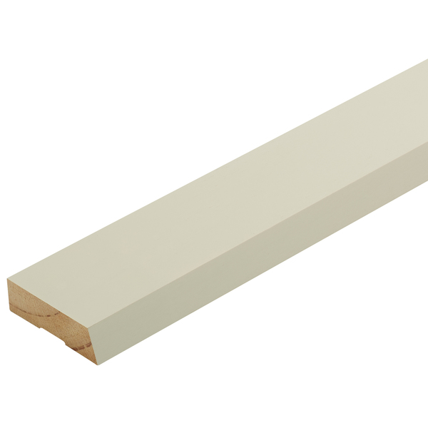 Radiata Pre-Primed Bevel Architrave Finger Jointed Untreated 60 x 18mm