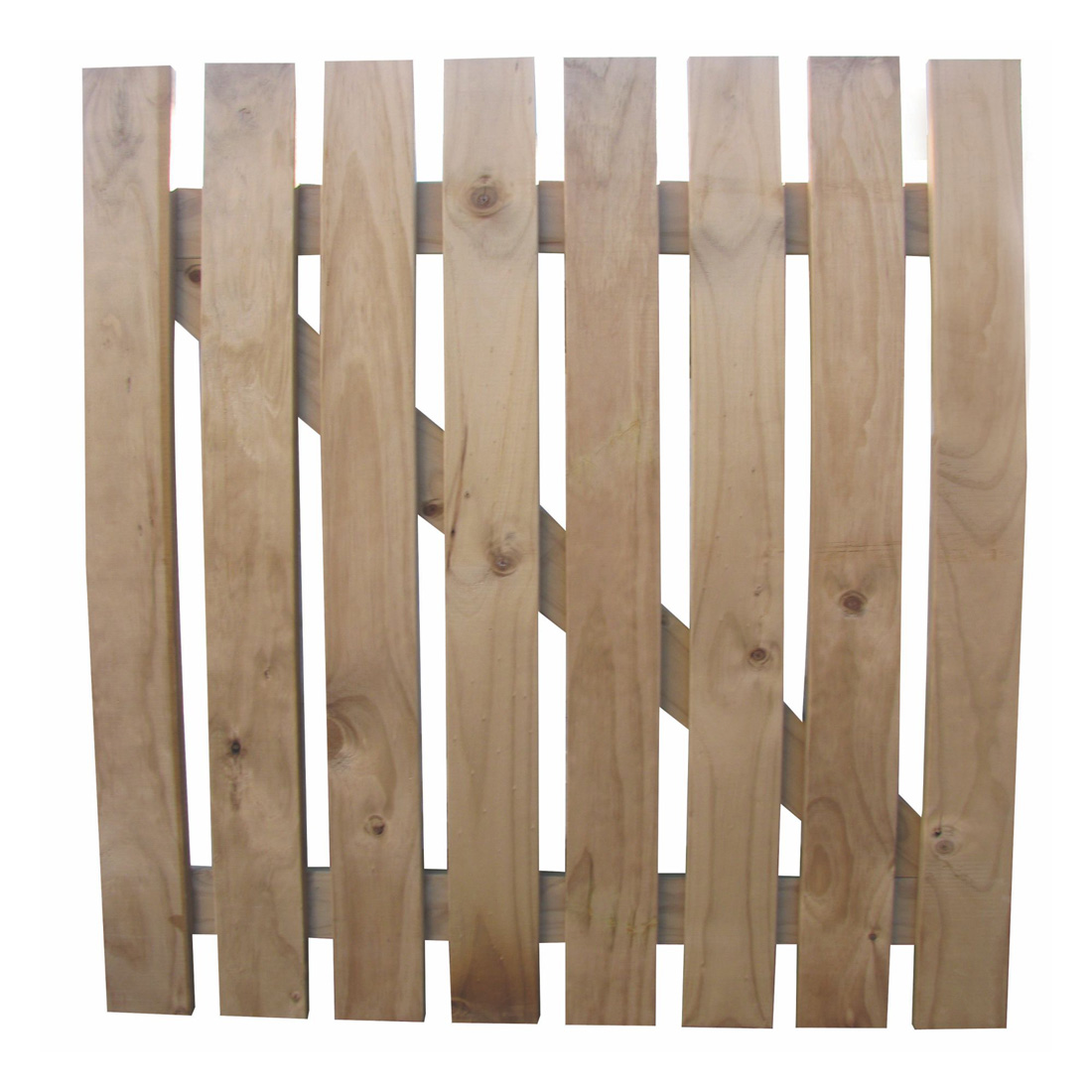 Radiata Square Picket Wooden Gate H3.2 Treated 1200 x 900mm