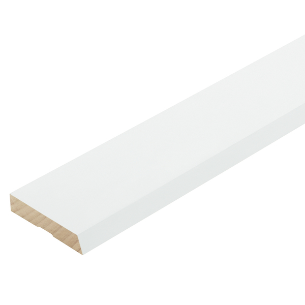 Radiata Pre-Coated Single Bevel Architrave Finger Jointed Untreated 60 x 18mm