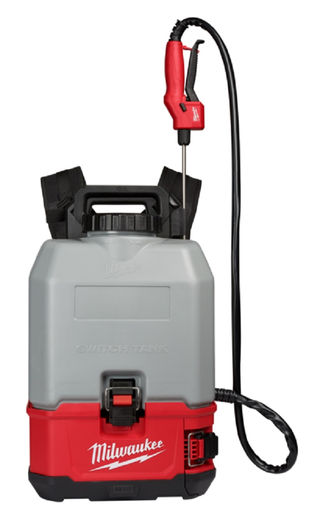 Switch Tank Concrete Sprayer with Powered Base 15L Backpack  M18BPFPCCS-0