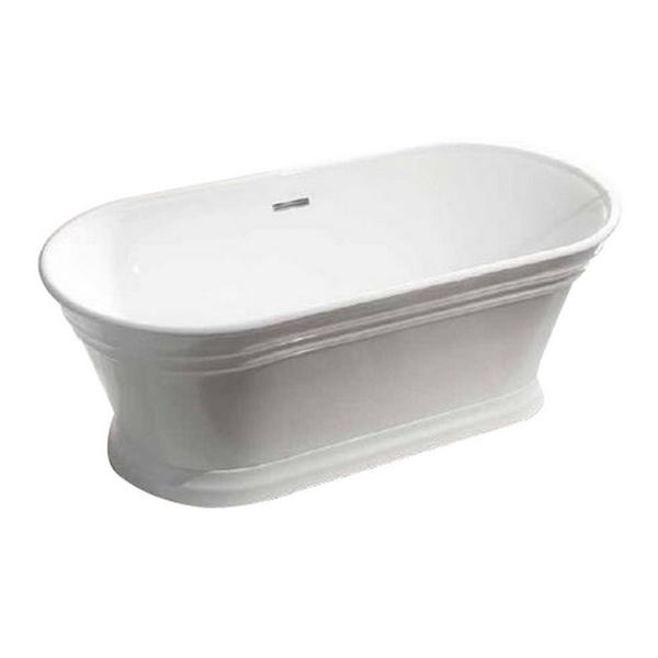 York Freestanding Bathtub 1700 x 790 x 600mm White