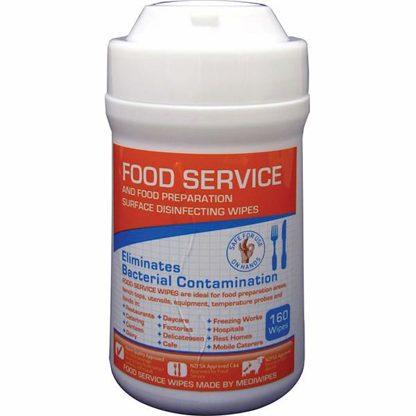 Surface Disinfecting Wipes Food Service 160pk
