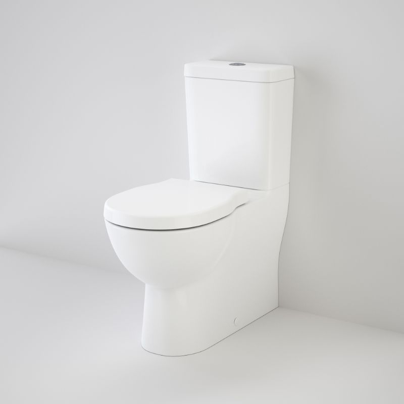 Opal Cleanflush Easy Height Wall Faced Close Coupled Suite with Double Flap Seat 985300W