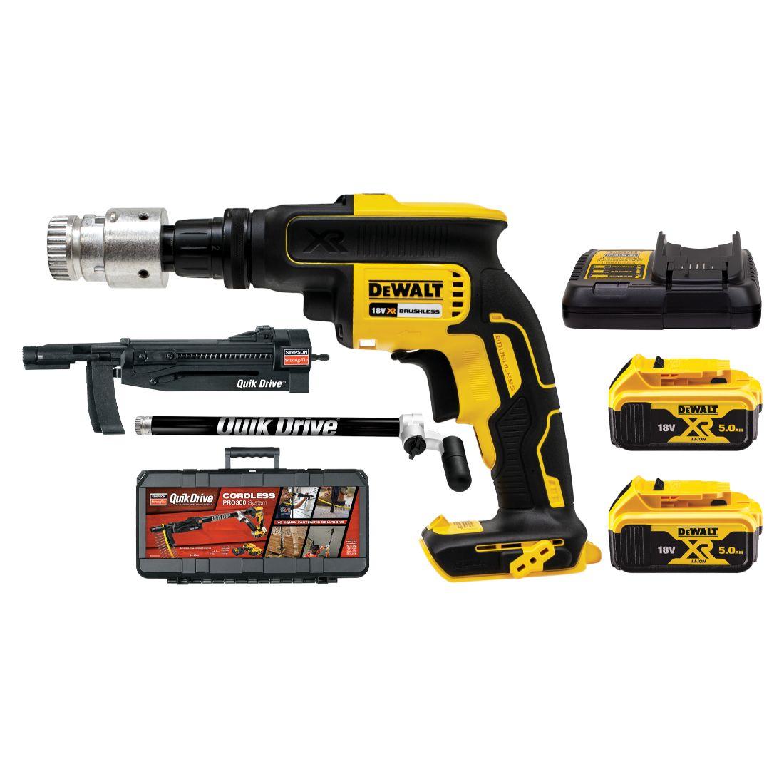 Quick Drive Pro300 18V Tool Kit