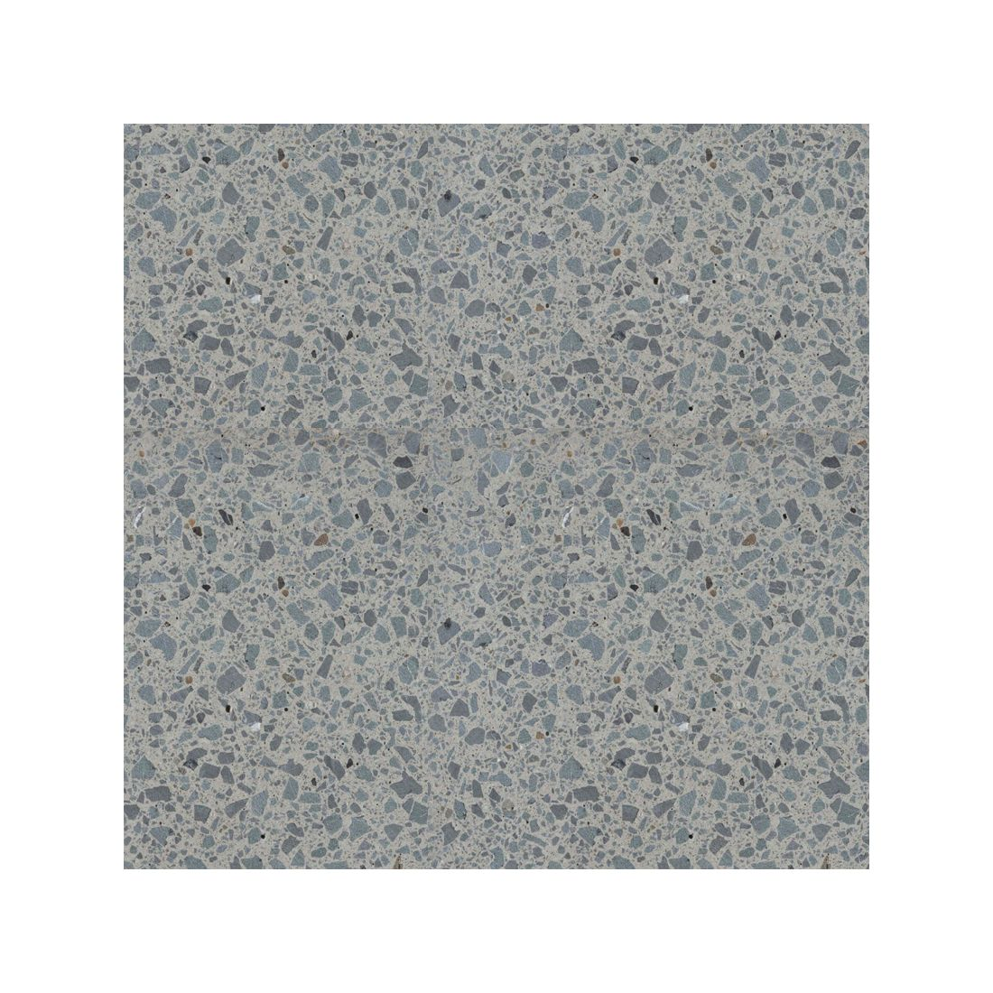 Terrazzo Honed Paver Natural Grey 600 x 600 x 40mm
