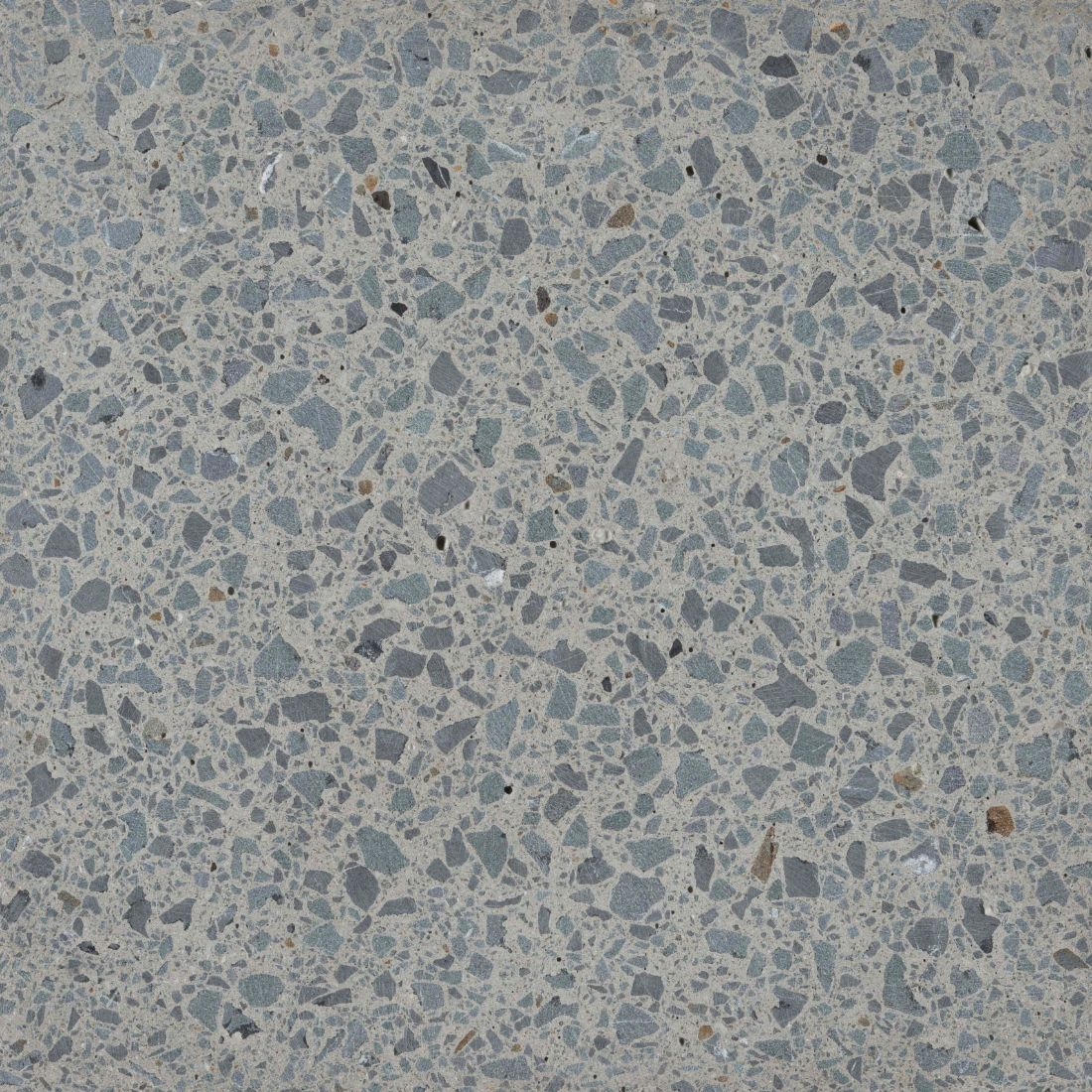 Terrazzo Honed Paver Natural Grey 450 x 450 x 40mm