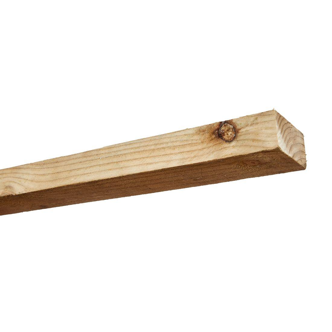 Radiata Rough Sawn No.2 Grade Timber H3.2 Treated 100 x 50mm