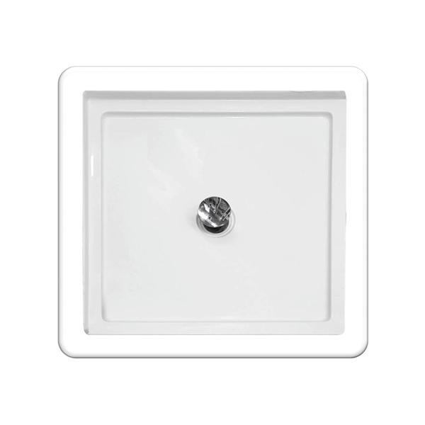 Boston 900 x 900mm Sanitary Grade Shower Base