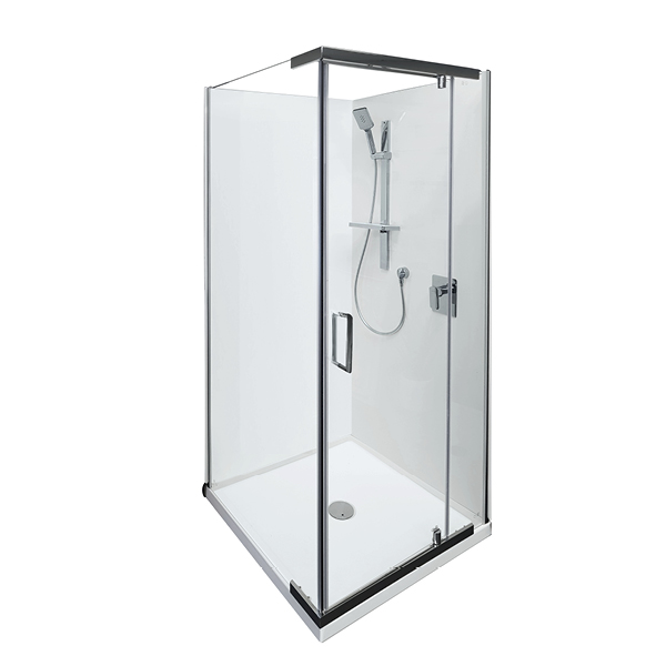 Boston Seme-Frameless Shower 900x900MM
