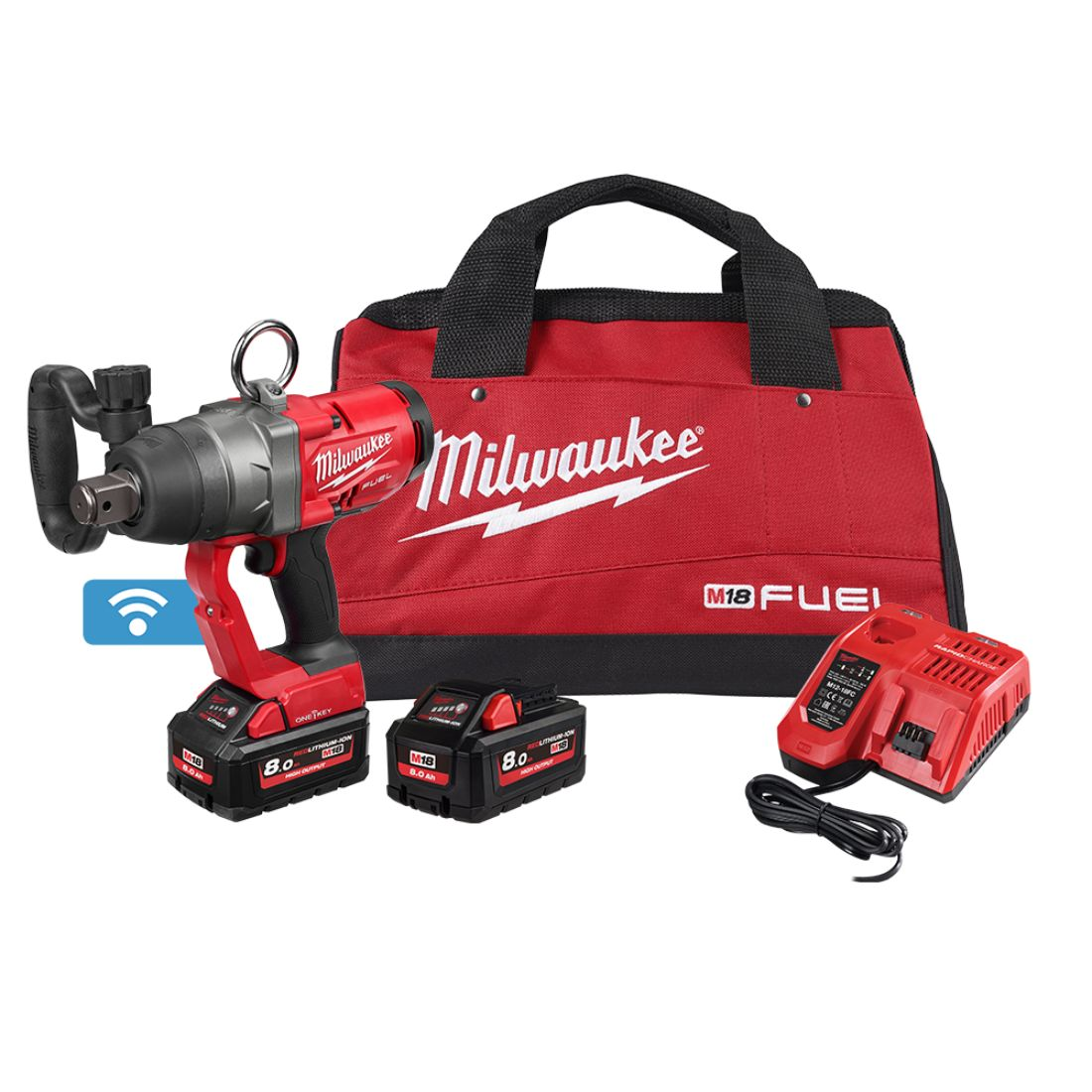 M18 FUEL Impact Wrench Kit 1 inch 8.0Ah