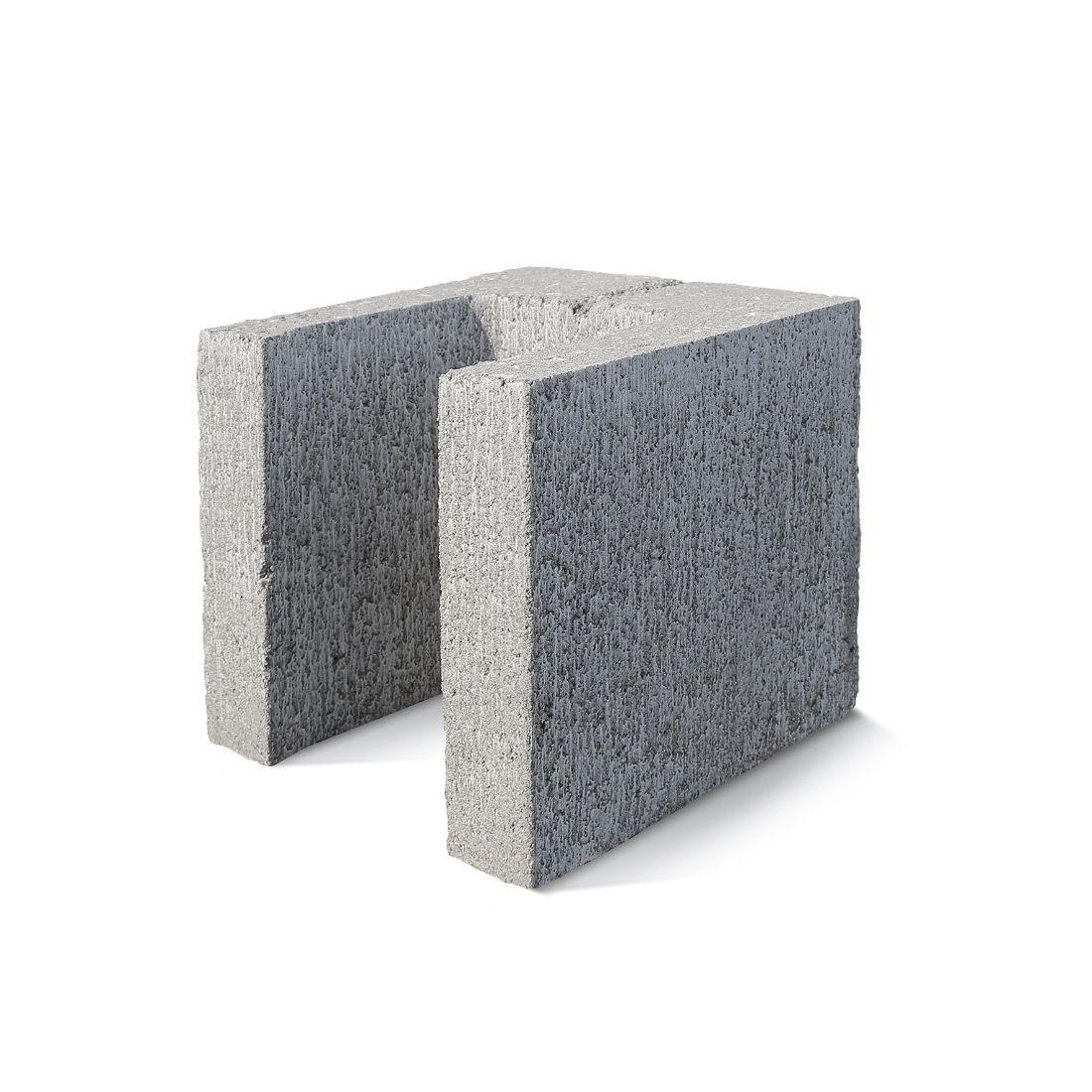 20.12 Lintel And Half End Closer Block 190x190x190mm