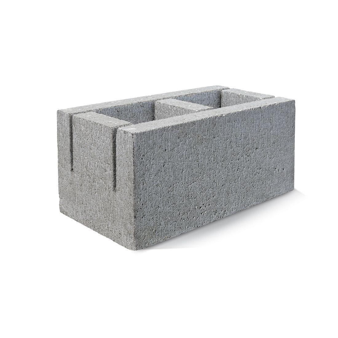 20.14 Bond Beam Knock In Block 390 x 190 x 190mm