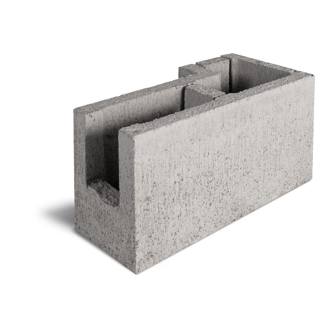 15.15L Corner L Bond Beam Block 390 x 190 x 190mm