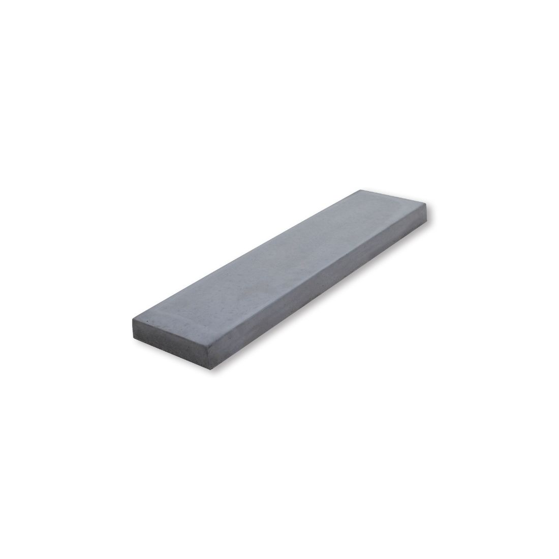 Milano Concrete Paver 600 x 150 x 37mm Grey River