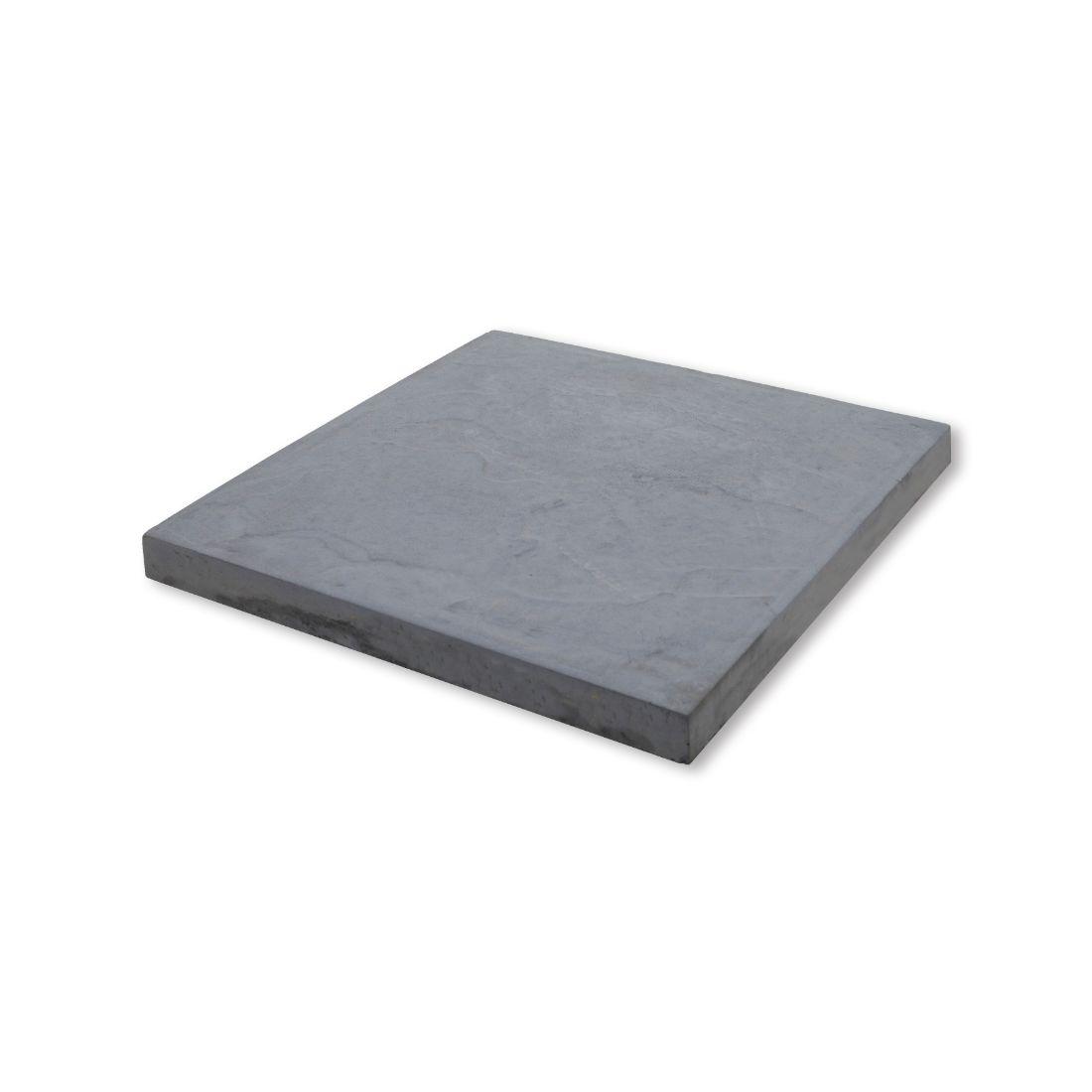 Romani Concrete Paver 450 x 450 x 37mm Grey River