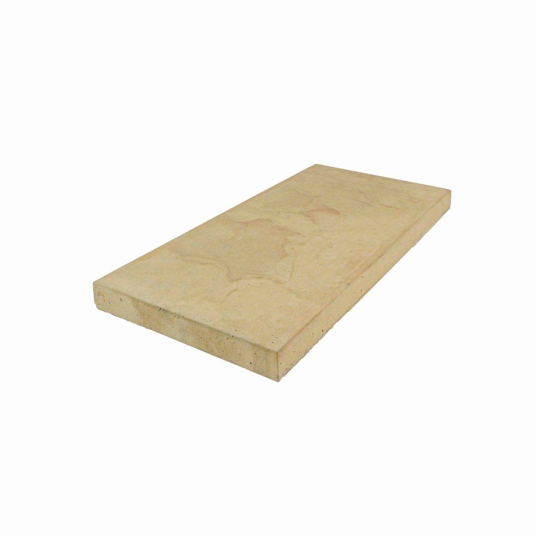 Romani Concrete Paver 600 x 300 x 37mm Cream Sands