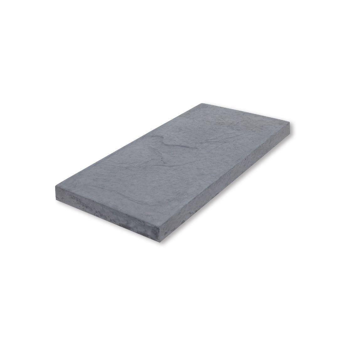 Romani Concrete Paver 600 x 300 x 37mm Grey River