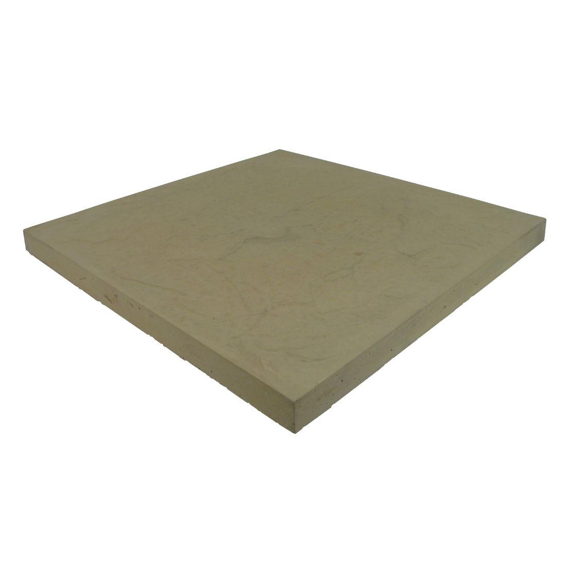 Romani Concrete Paver 600 x 600 x 37mm Cream Sands