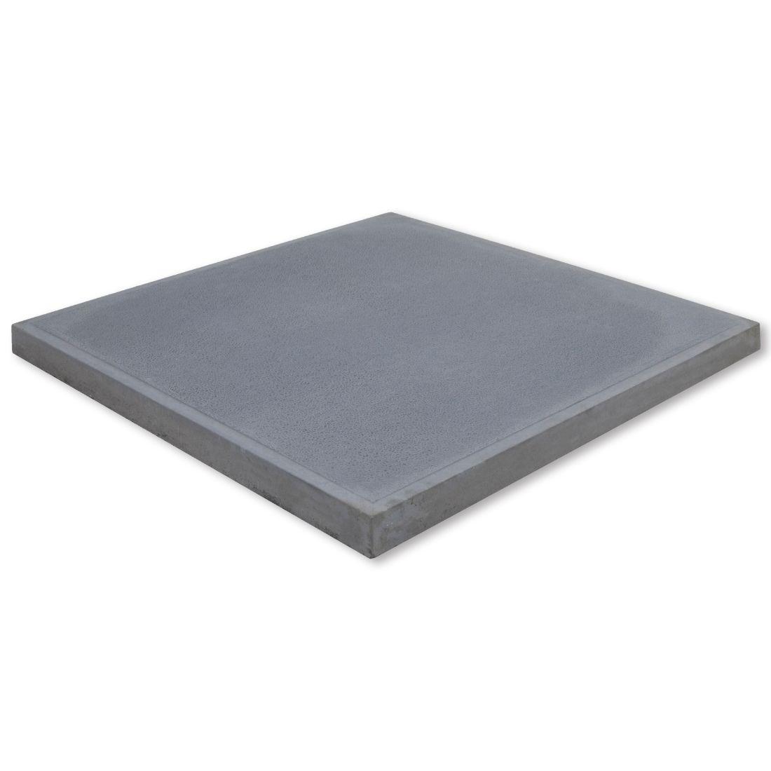 Viltorio Concrete Paver 600 x 600 x 37mm Grey River