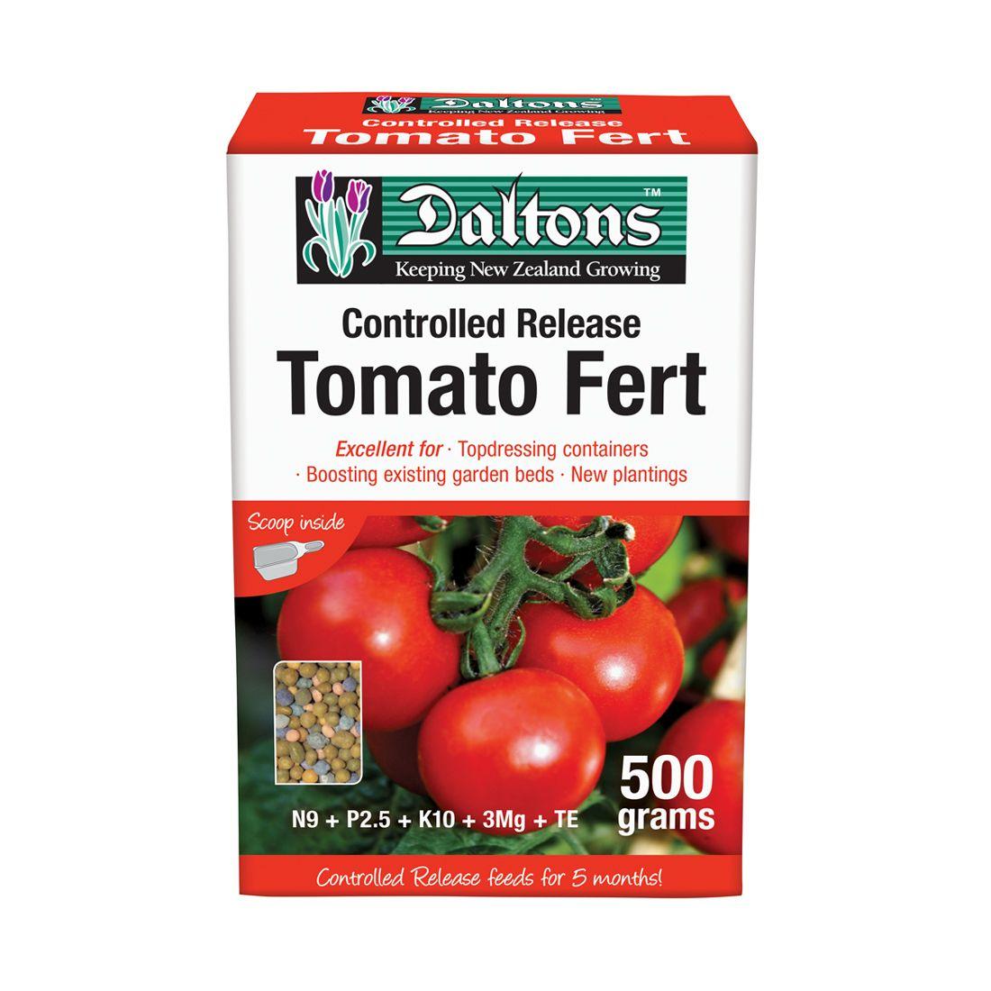 Tomato Fertilizer Controlled Release 500g Box
