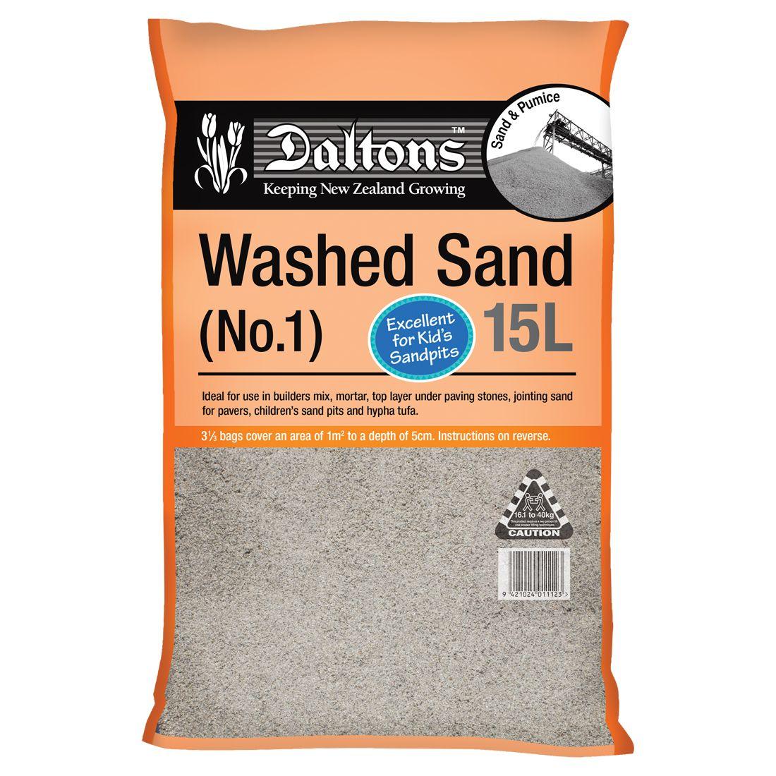 Washed Sand1 15L Bag
