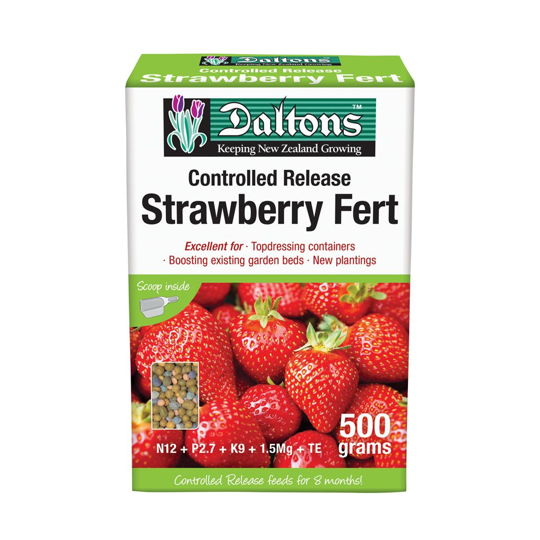 Strawberry Fertilizer Controlled Release 500g Box