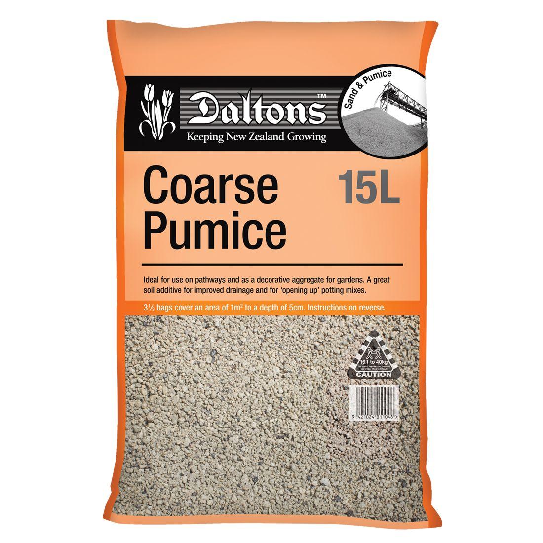 Coarse Pumice 15L Bag