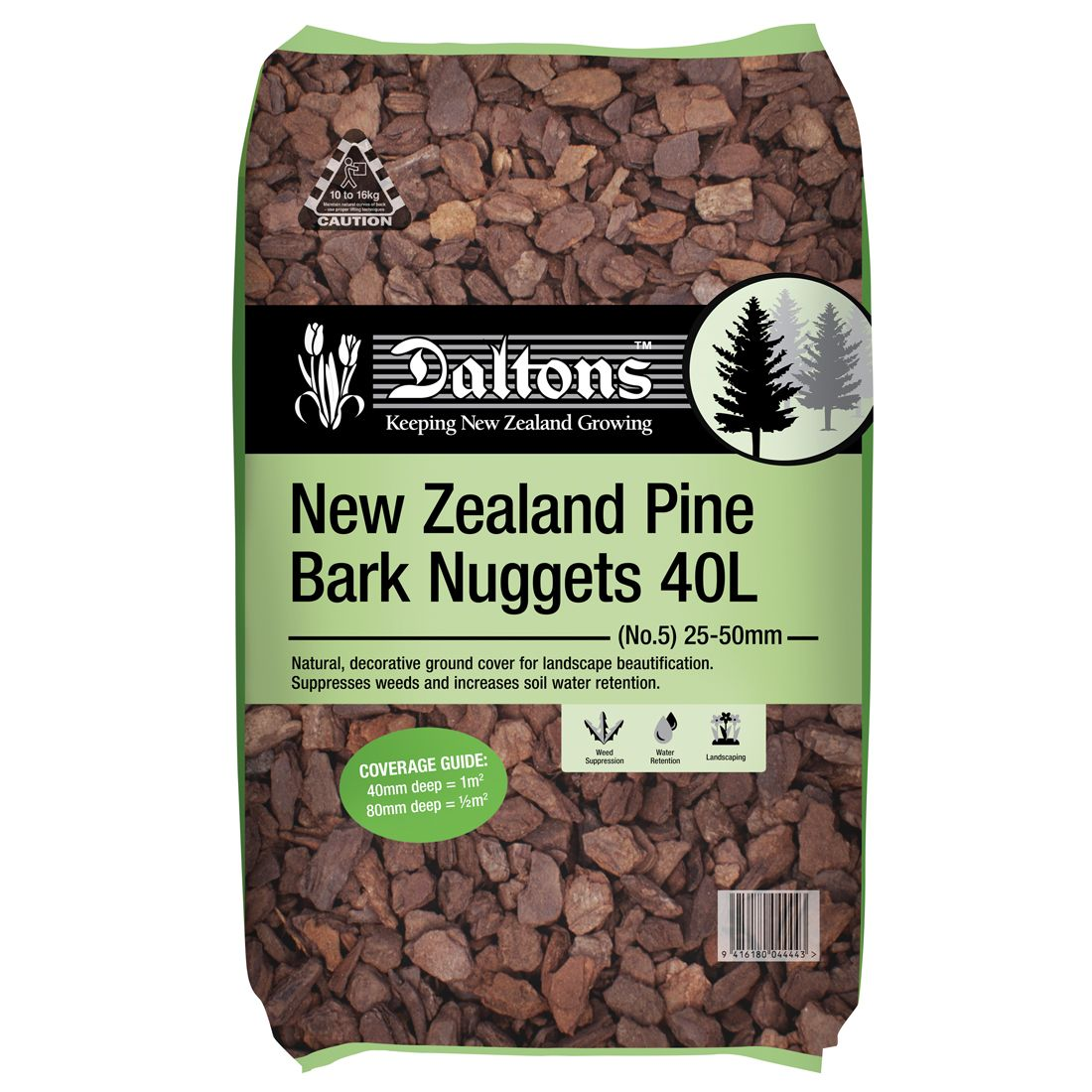 NZ Pine Bark Nuggets 40L Bag