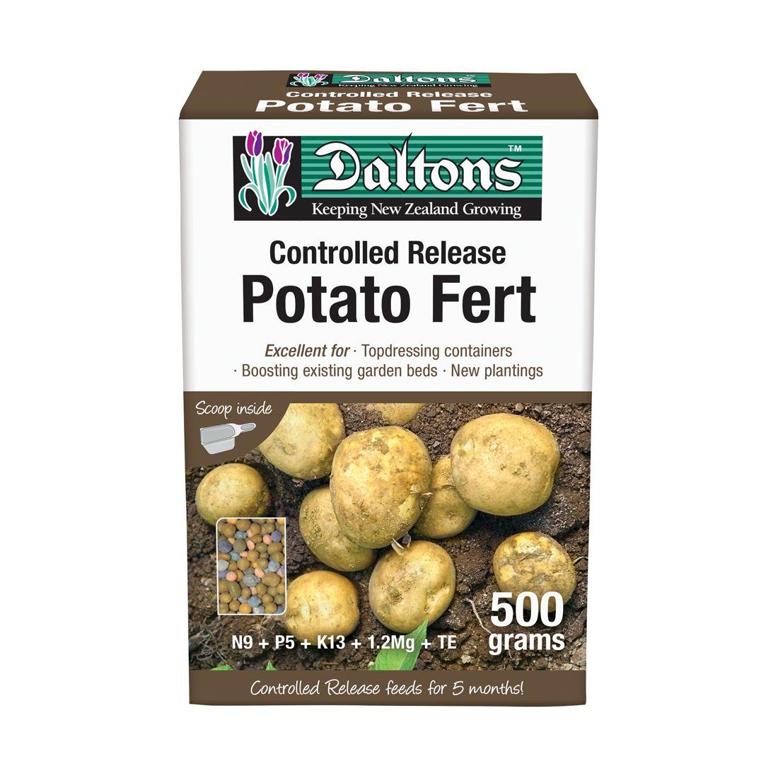 Potato Fertilizer Controlled Release 500g Box