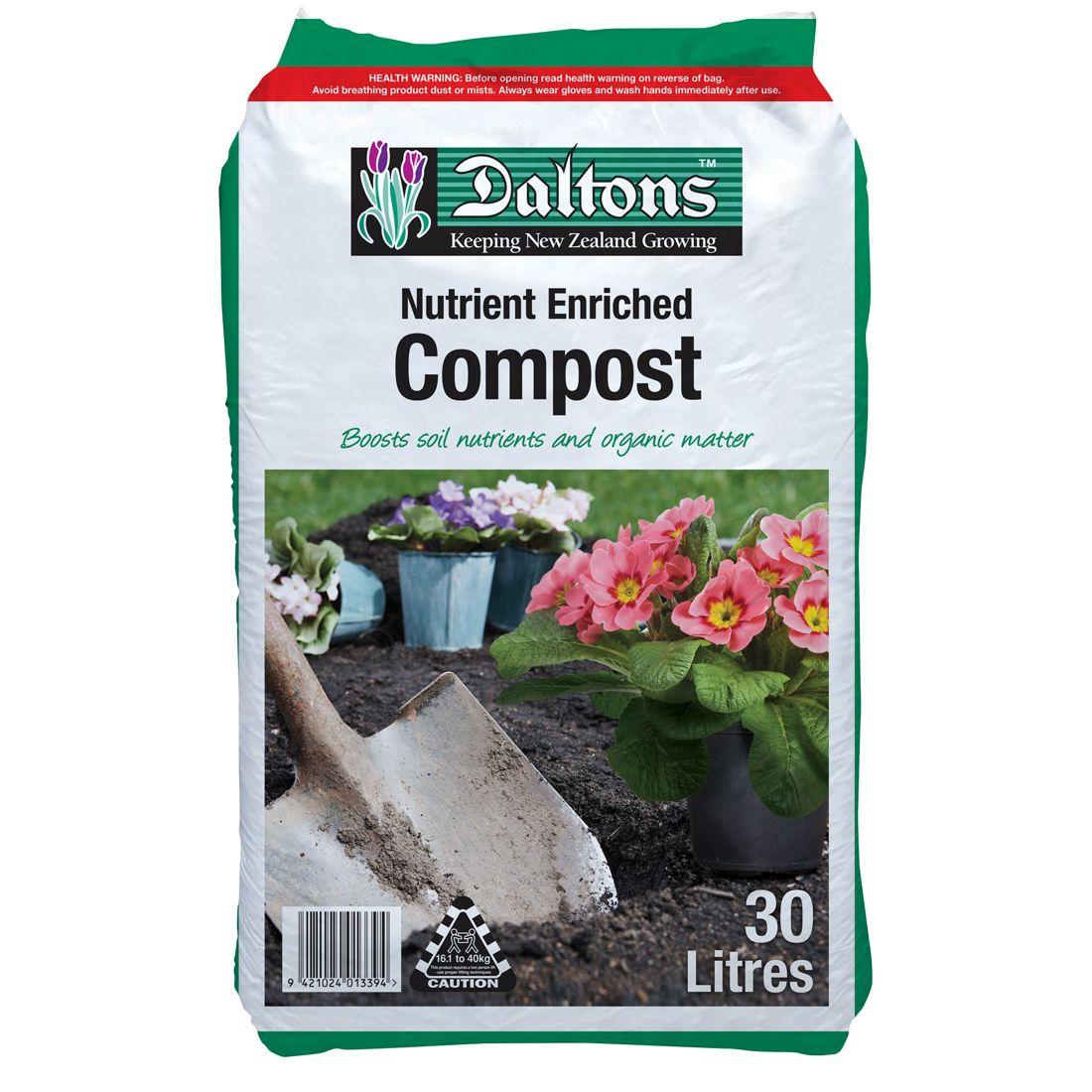 Compost Nutrient Enriched 30L Bag