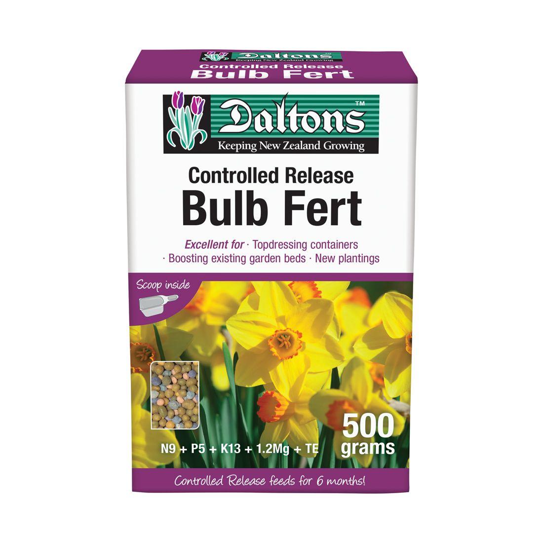 Bulb Fertilizer Controlled Release 500g Box