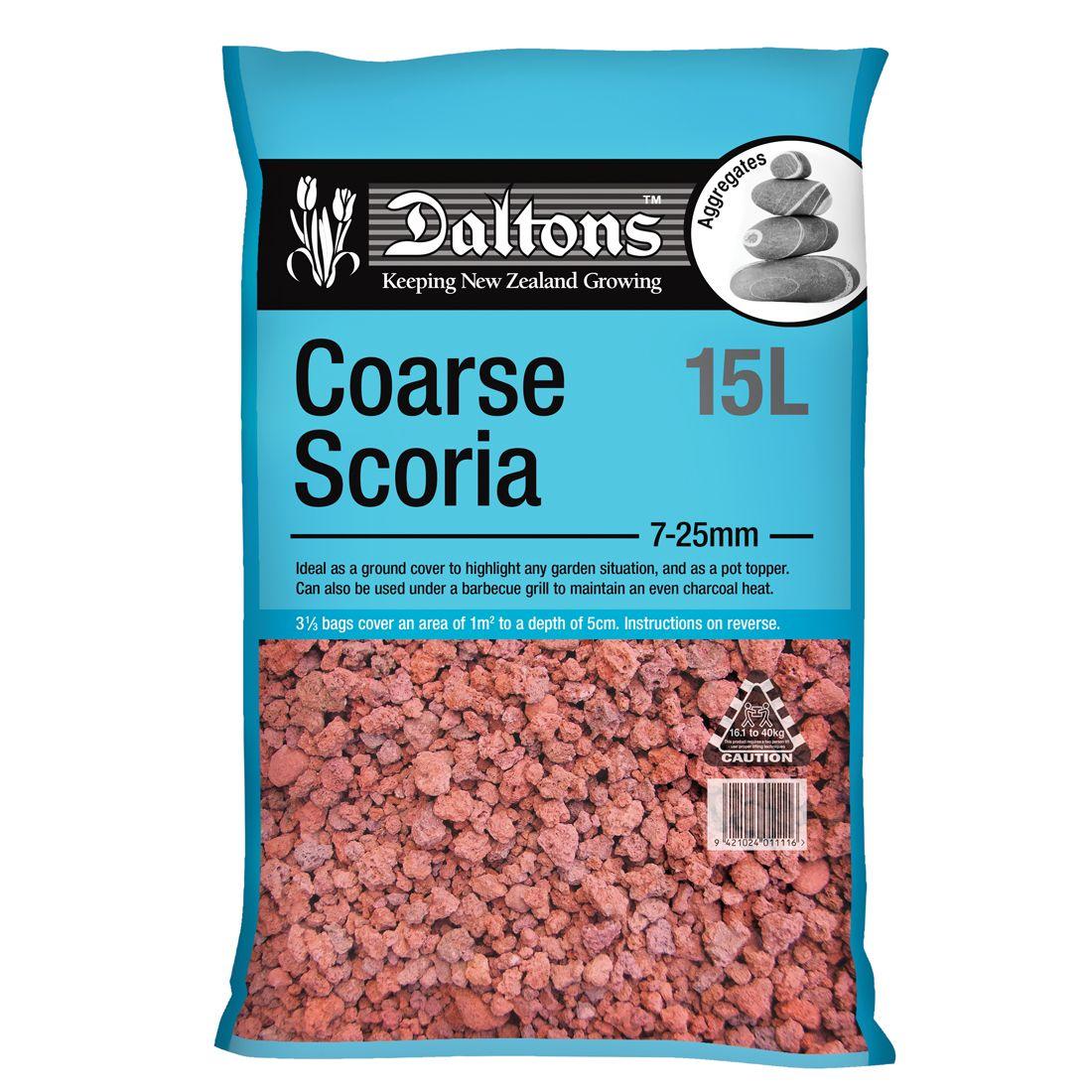 Coarse Scoria 15L Bag