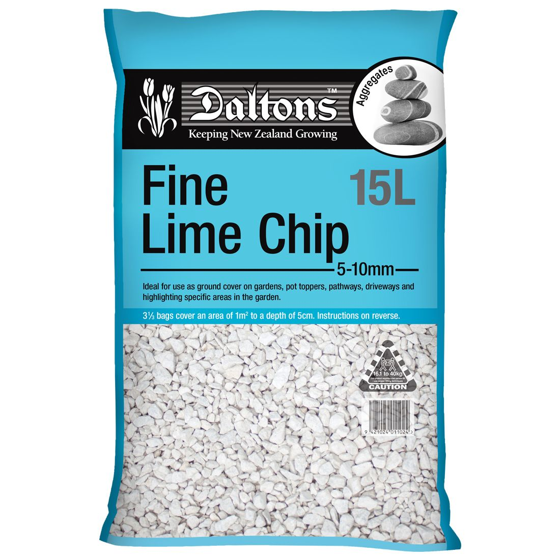 Fine Lime Chip 15L Bag