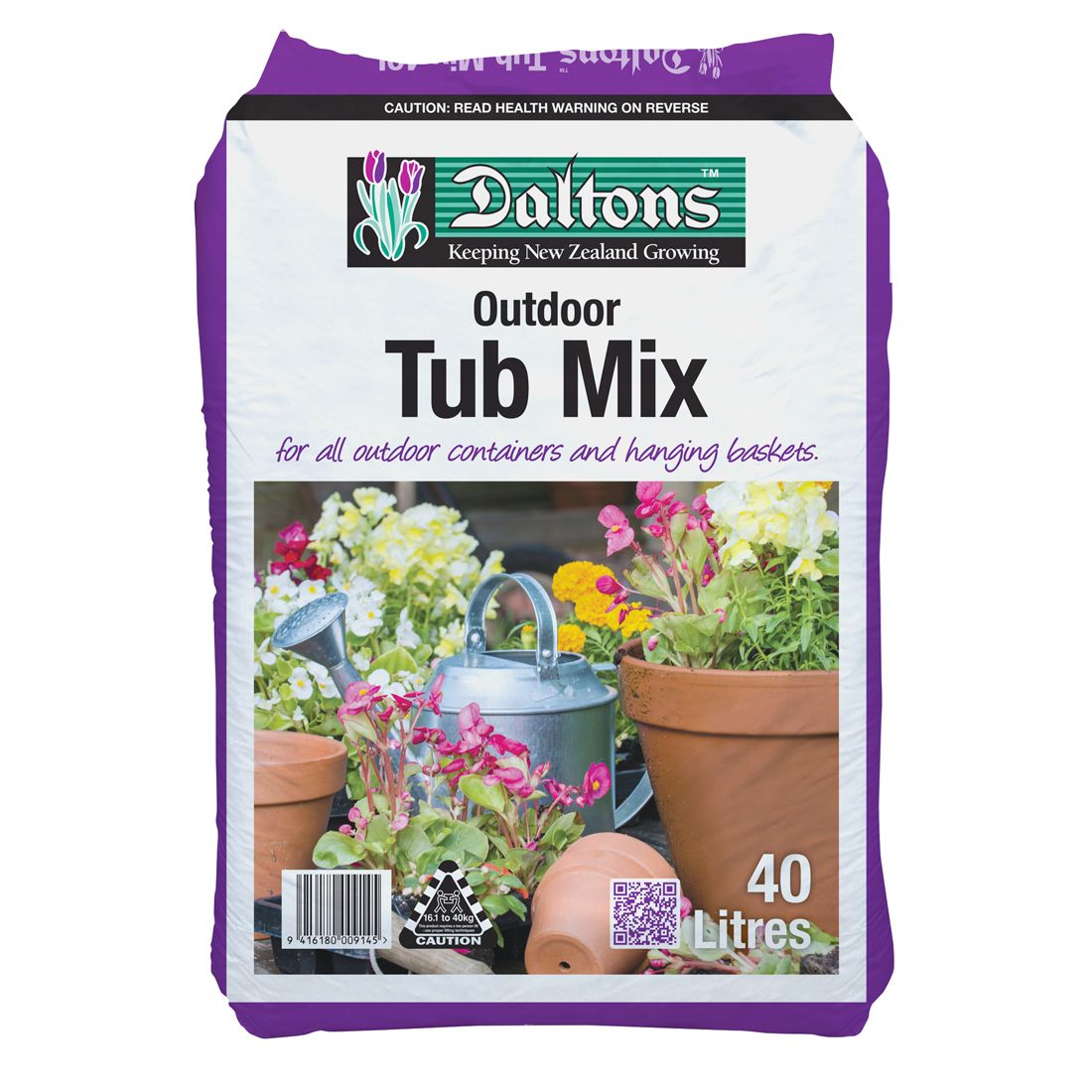 Outdoor Tub Mix All Purpose 40L Bag