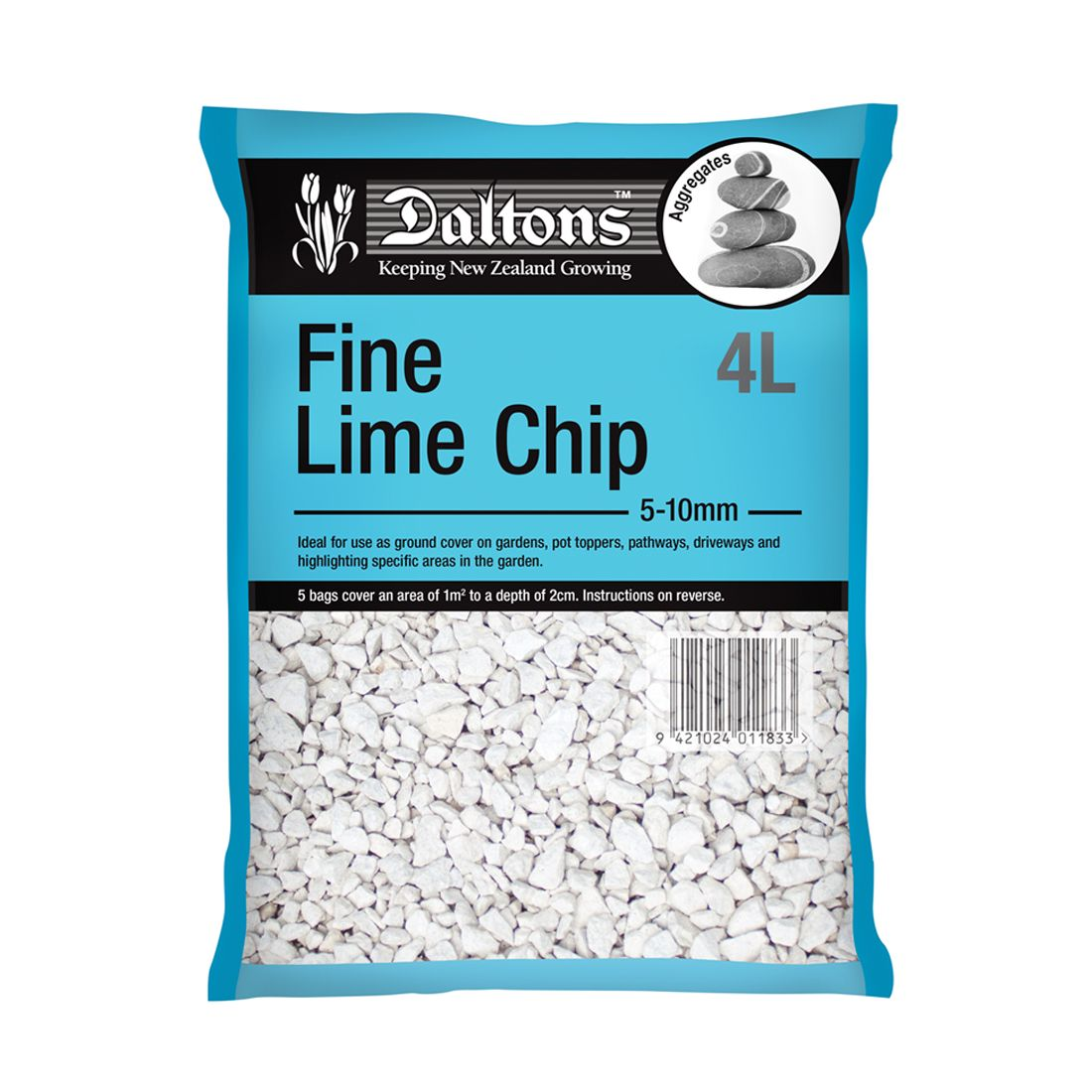 Fine Lime Chip 4L Bag